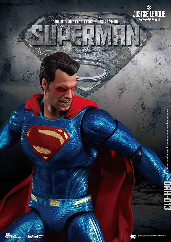 BEAST KINGDOM DC DAH-013 1//9 Superman Action Figure Justice League