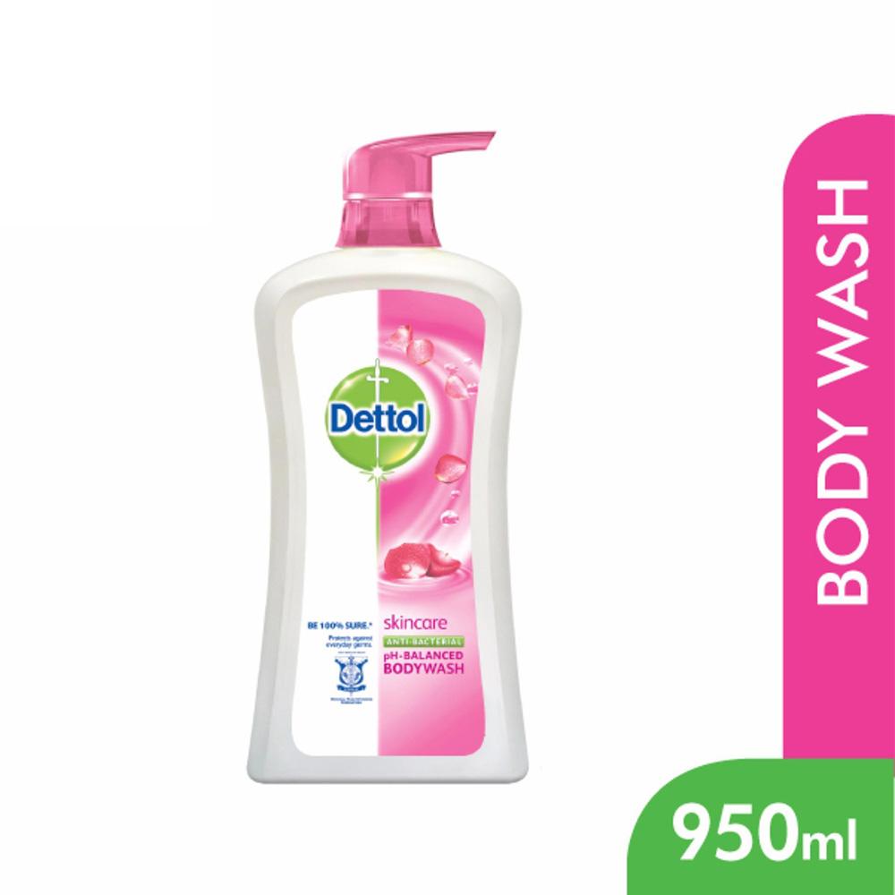 Dettol Shower Gel Skincare 950ml
