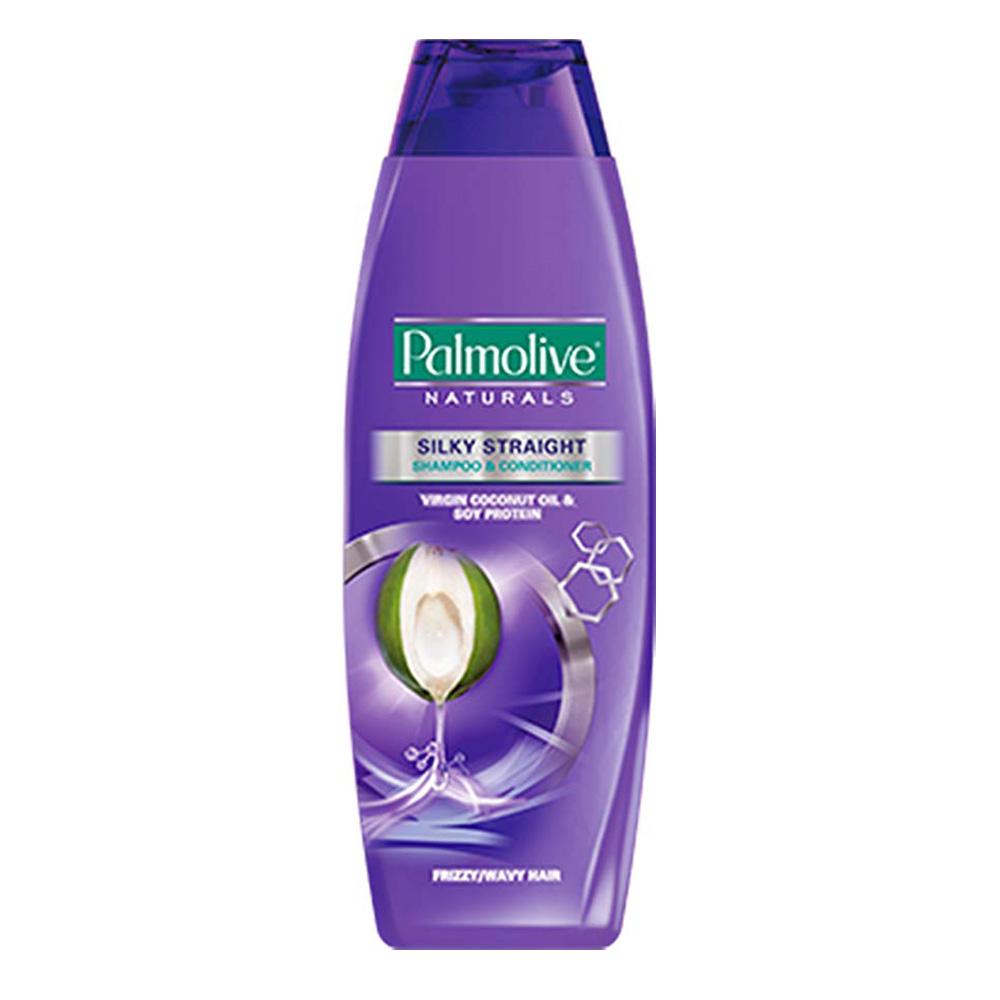 Palmolive Naturals Silky Straight (Frizz/Wavy Hair) Shampoo & Conditioner 180ml