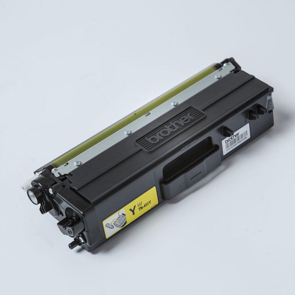 Brother TN-451 Yellow Toner Cartridge