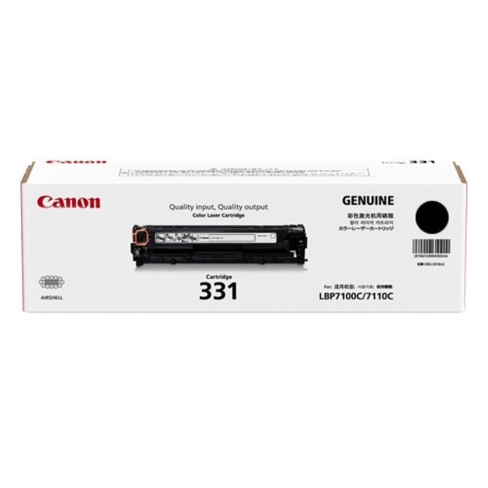 Canon Cartridge 331 Black Toner Cartridge - 1.4k