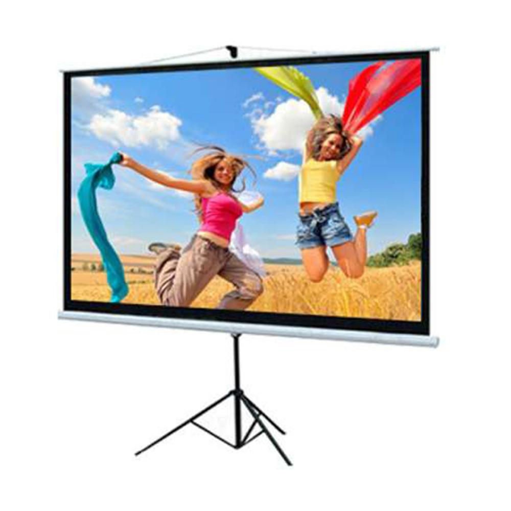 DP Screen Projector Screen - Tripod Screen - Matte White - DP-TP-08 - Screen Ratio 8' x 8' - Screen Size 2440 x 2440mm