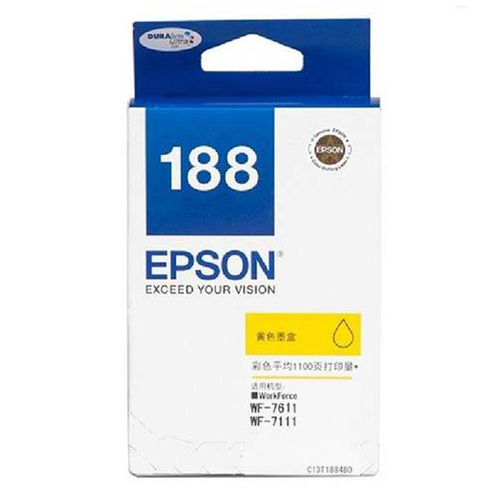 Epson 188 Yellow Ink Cartridge (Item No: EPS T188490)