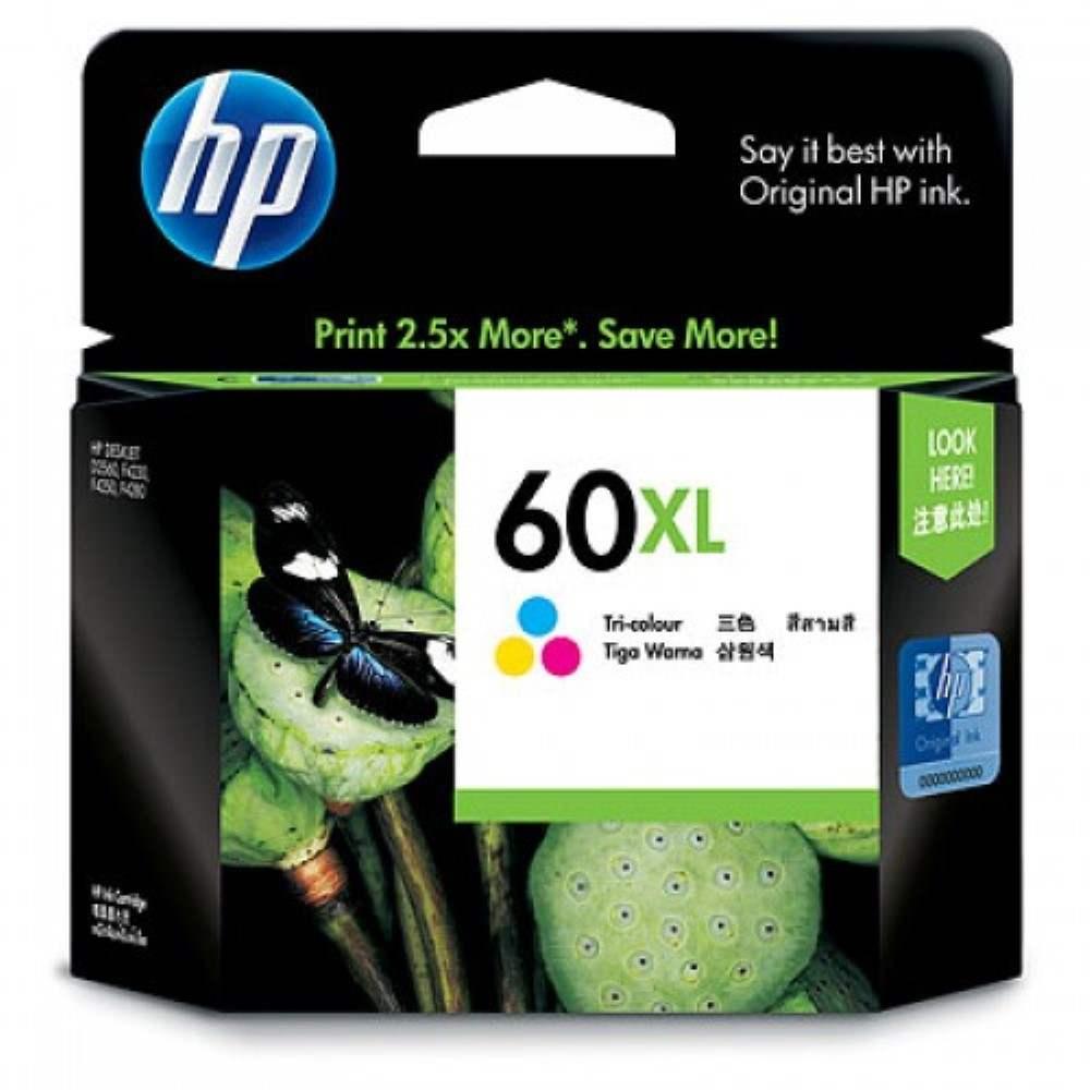 HP 60XL Tri-color Ink Cartridge (CC644WA)