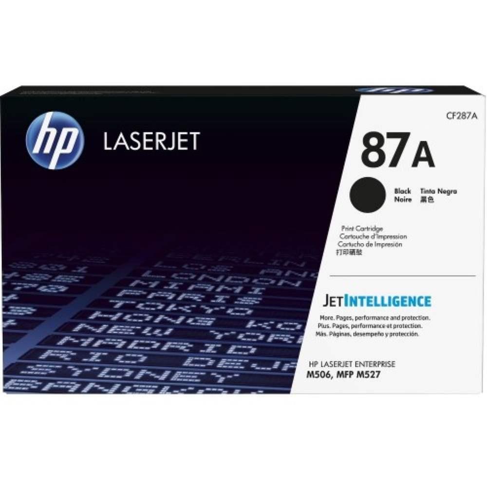 HP 87A Black LaserJet Toner Cartridge (CF287A)
