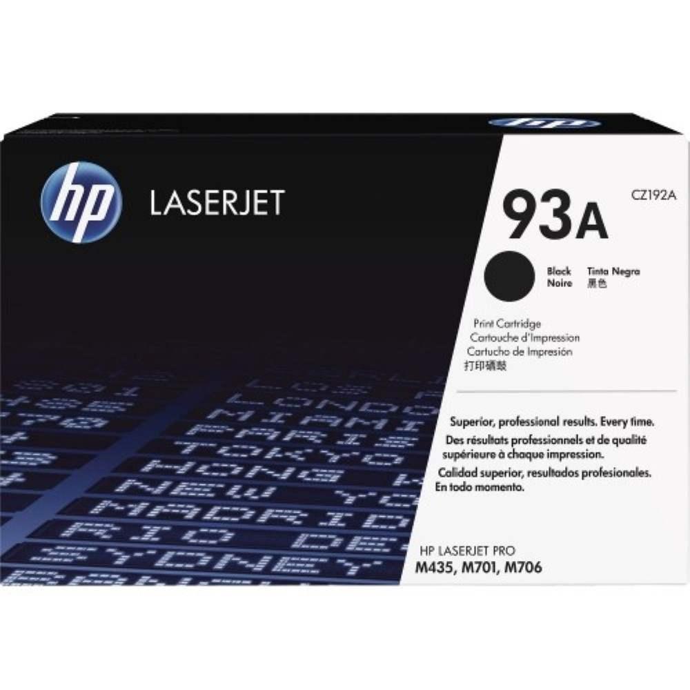 HP 93A Black Original LaserJet Toner Cartridge (CZ192A)