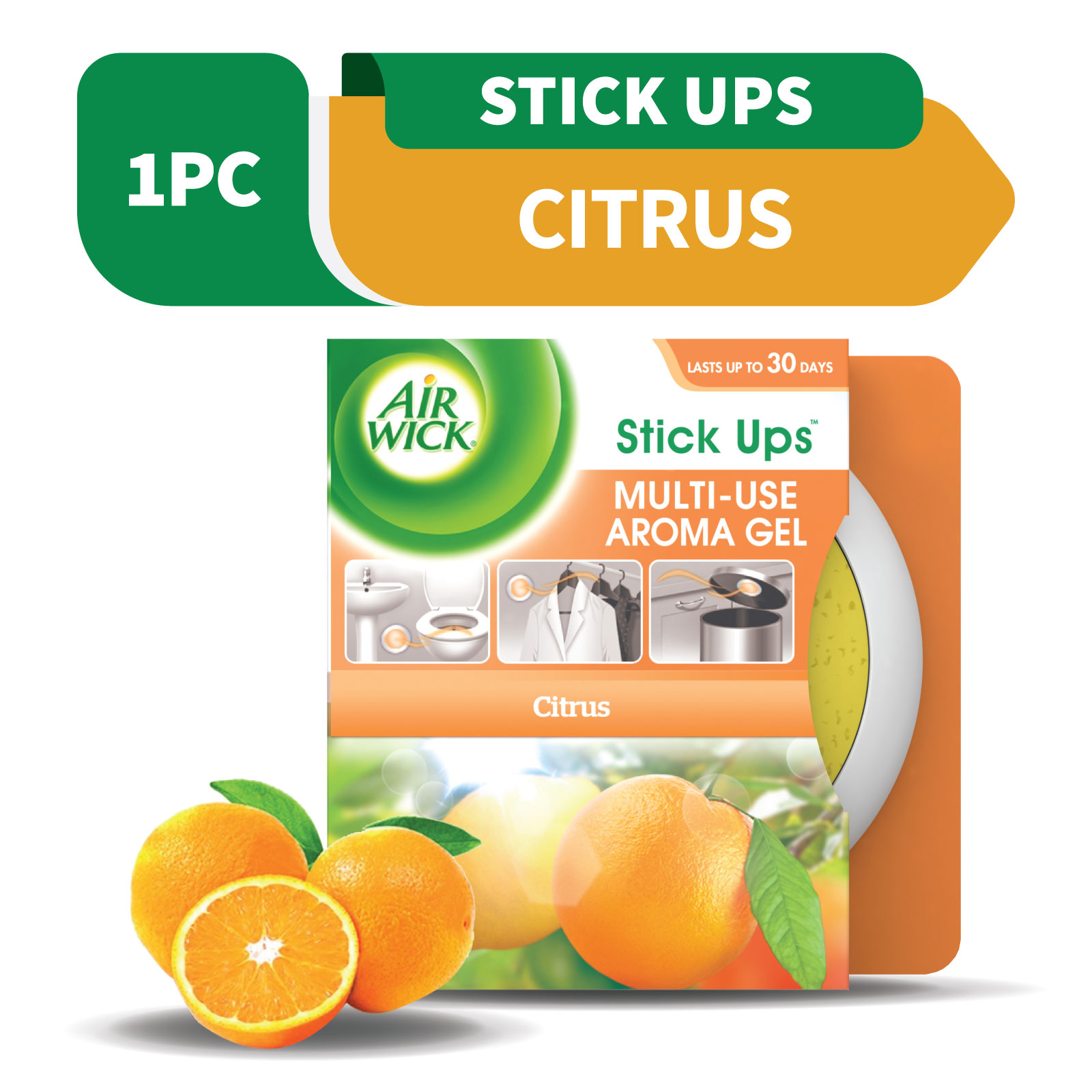 Air Wick Stick Up Gel Citrus 30g