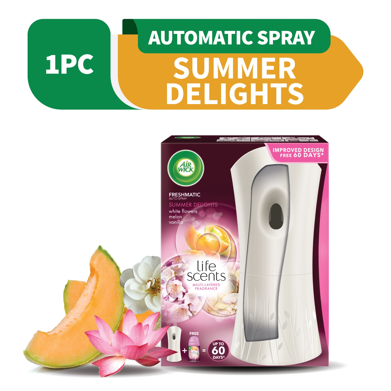 Air Wick Freshmatic Life Scents Summer Delight Starter