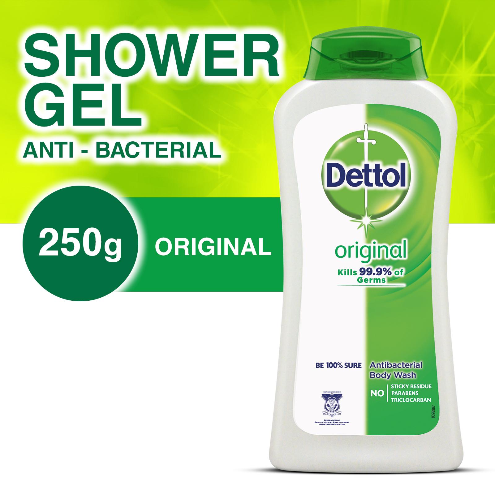 Dettol Shower Gel Original 250ml