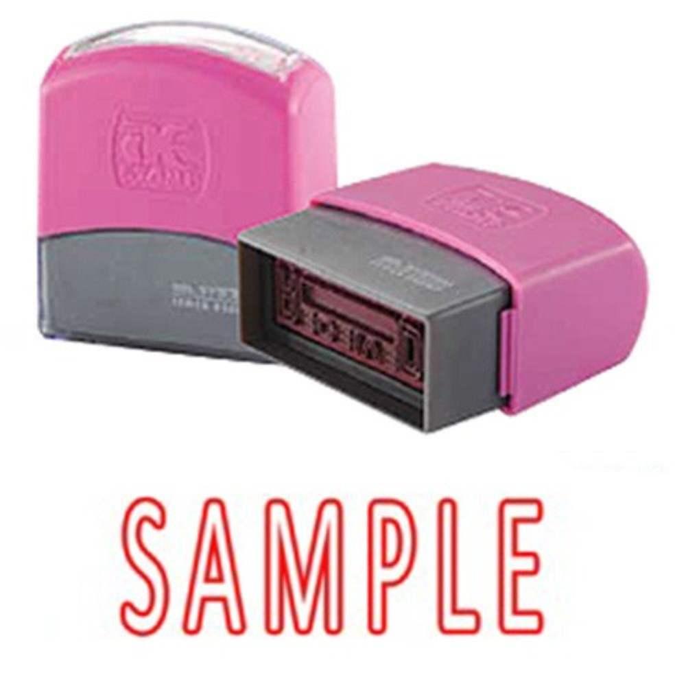 AE Flash Stamp - Sample