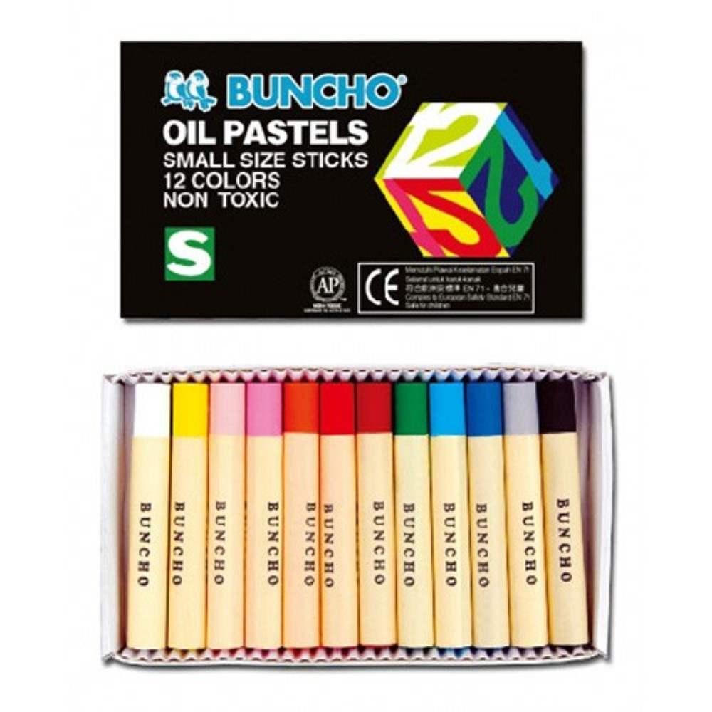 Buncho Oil Pastel Small Stick (Black Box)