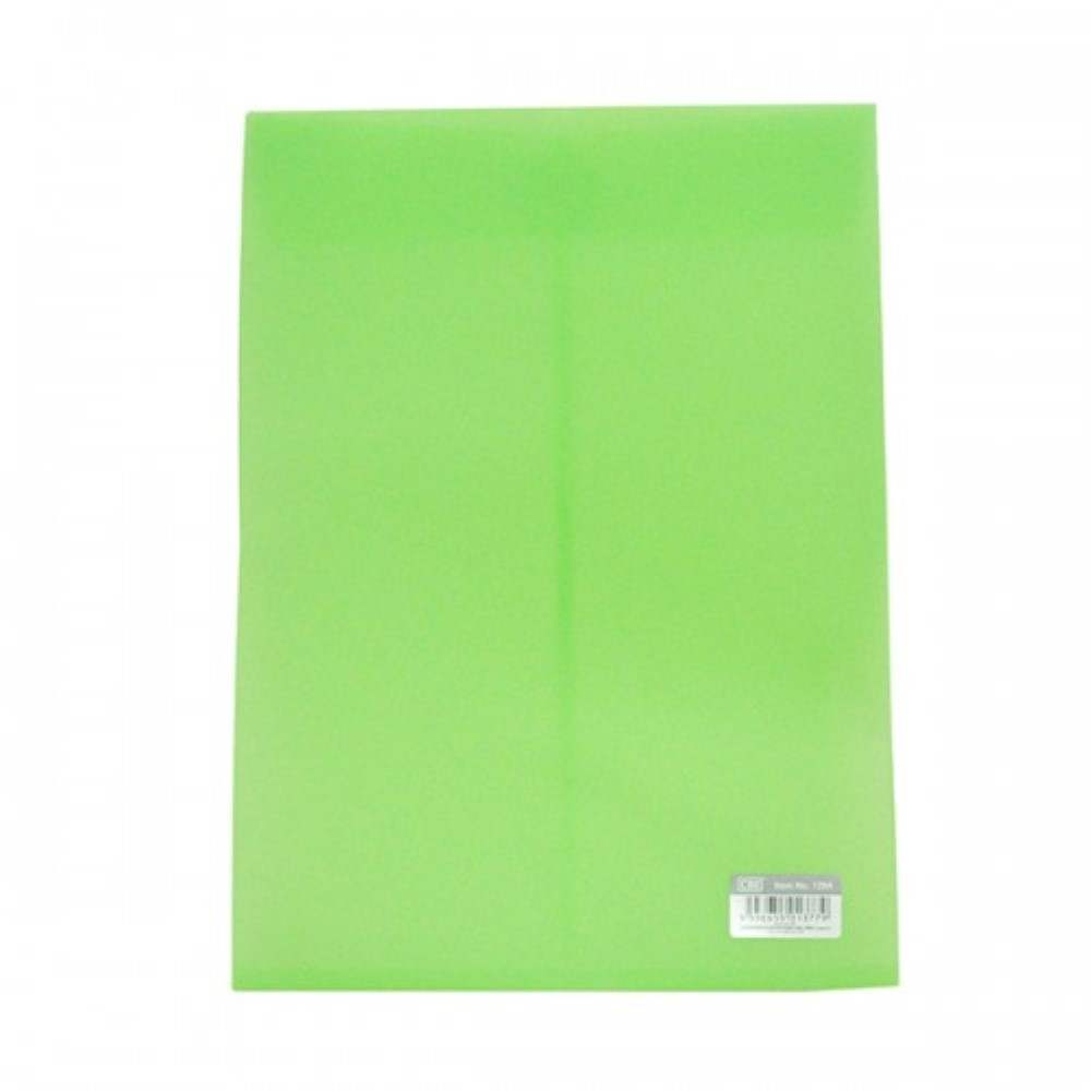 CBE 129A Document Holder W/Velco - Green