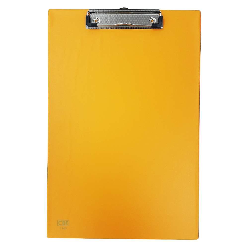 CBE 1340 PVC H-Clip Board (FC) Orange