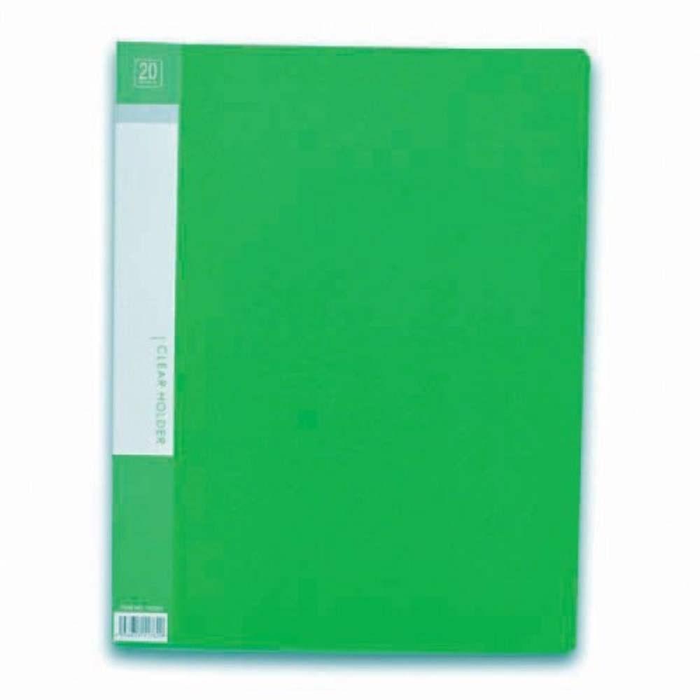 CBE 76020 Clear Holder A4 size - Green (Item No: B10-10 GR) A1R5B17