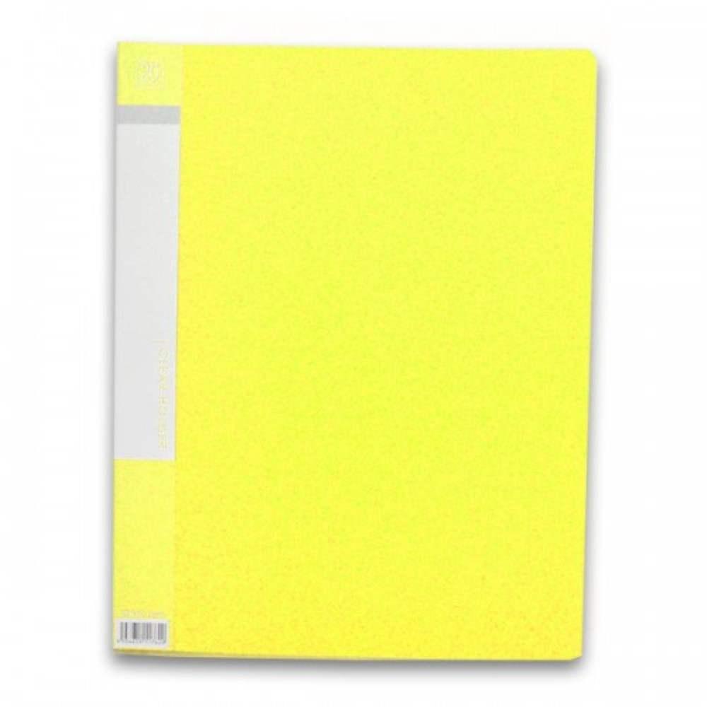 CBE 76020 Clear Holder A4 size - Yellow (Item No: B10-10 Y) A1R5B17