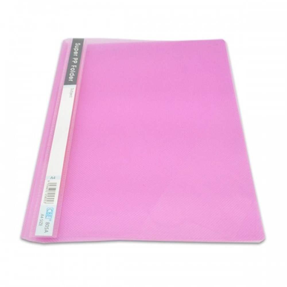 CBE 805A PP Management File - A4 size Pink (Item No: B10-06 PK) A1R3B159