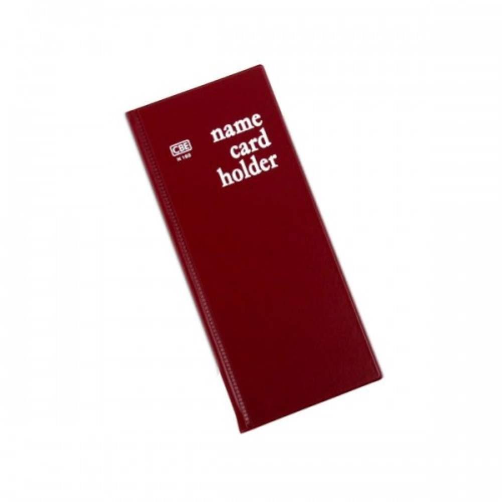 CBE N160 PVC Name Card Holder - Red (Item No: B01-16RD) A1R2B16