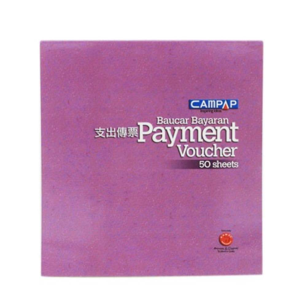 Campap Voucher Book 50 sheet