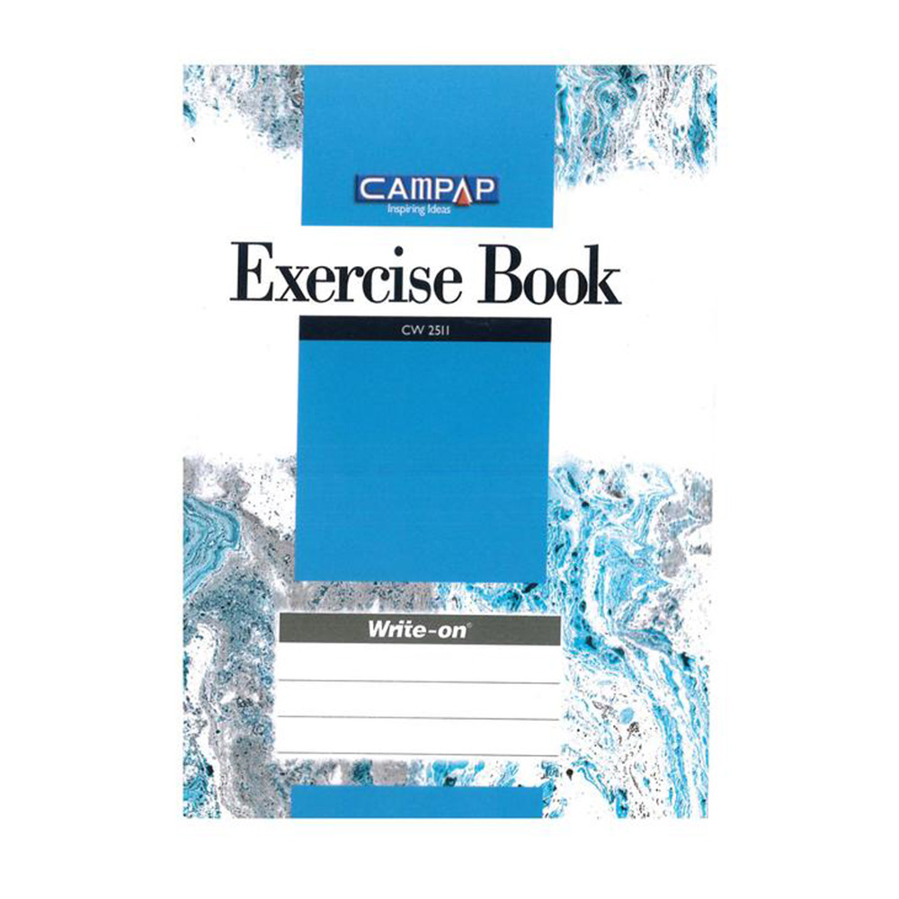 Campap F5 or A4 PP Cover Exercise Book