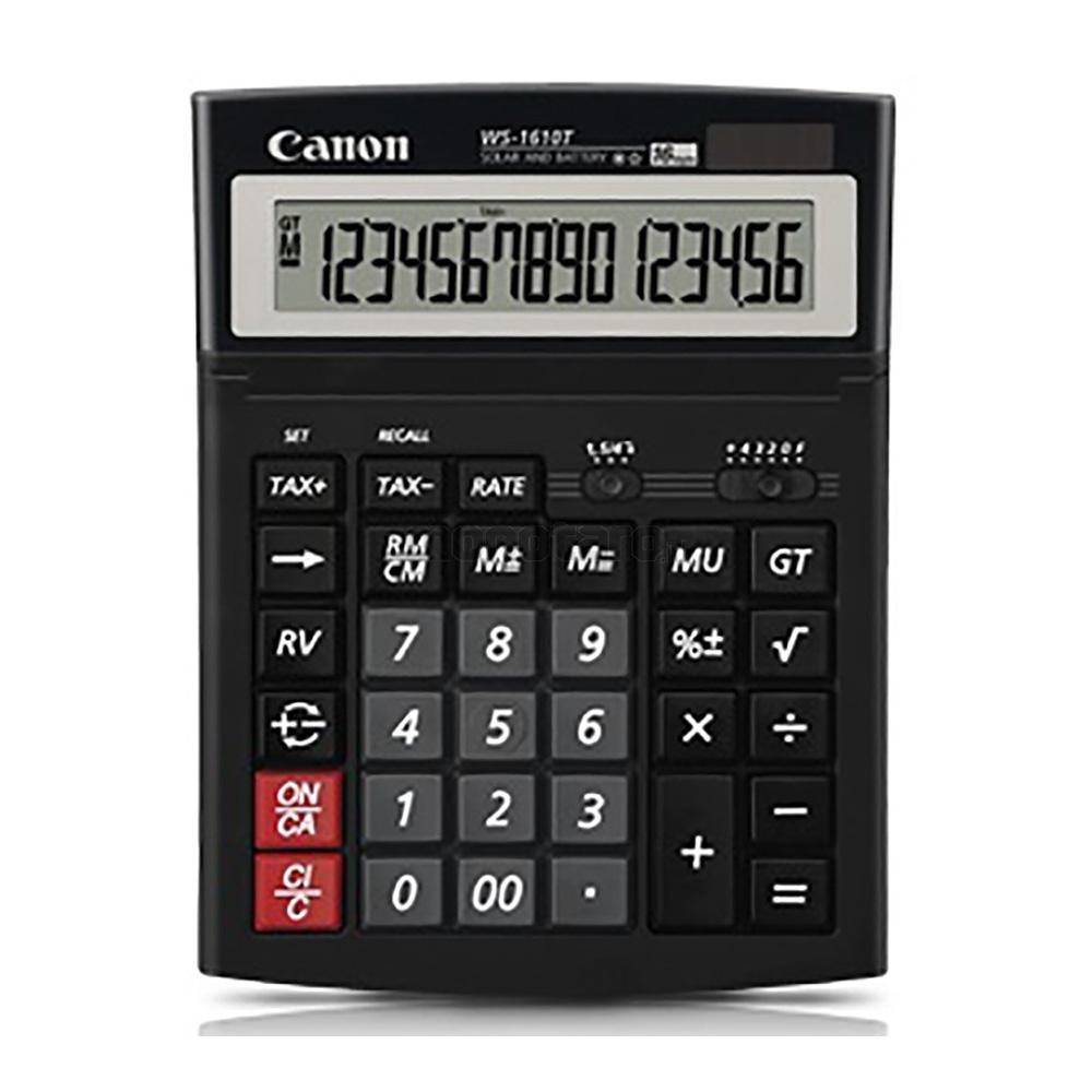 Canon WS-1610T 16 Digits Desktop Calculator