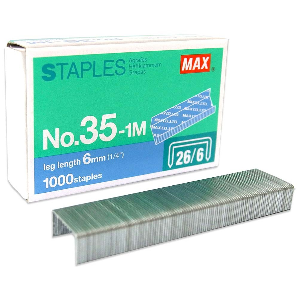 MAX STAPLES 35-1M BULLET (item no: B07 46)