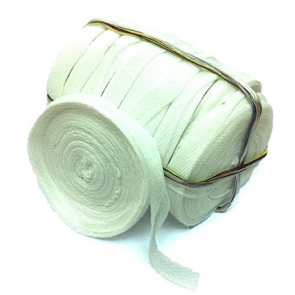 Cotton Tape - 10 Rolls / Pack - White (Item No: B01-09 CT-W) A1R2B9
