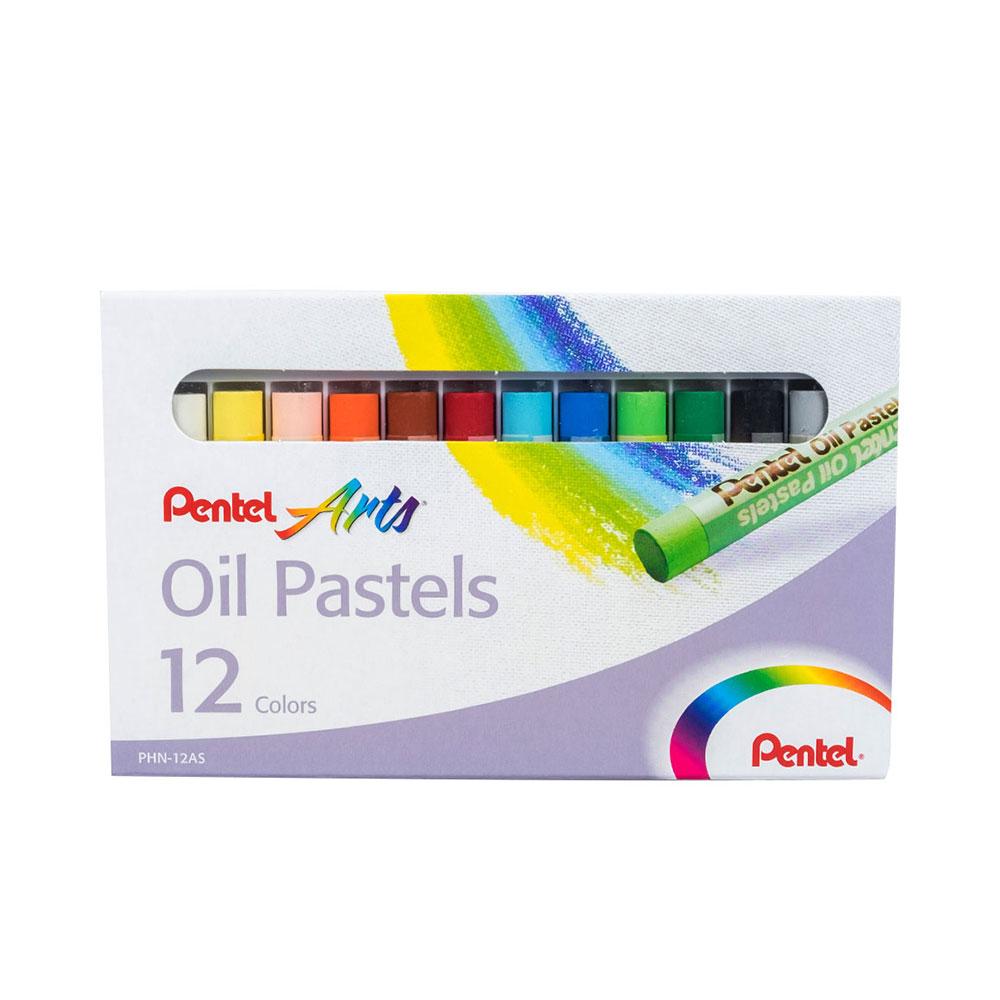 PENTEL ARTS OIL PASTELS COLOURS