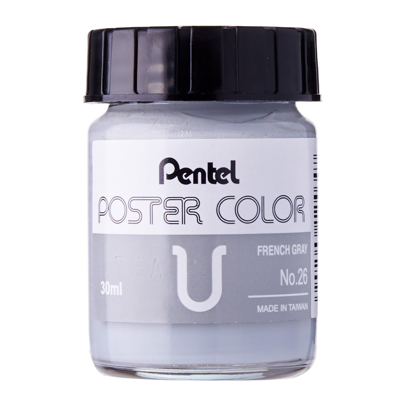 Pentel Poster Color U French Grey 30ml (No.26)