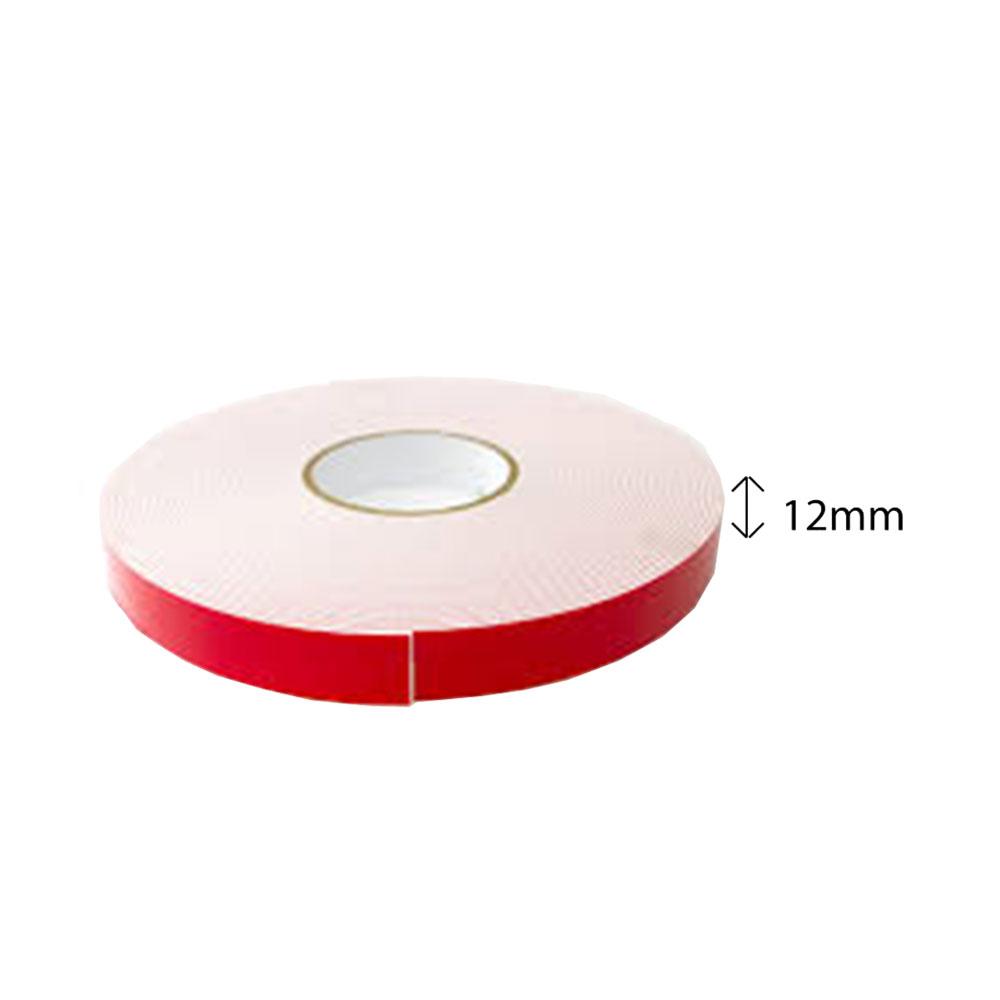 Double Sided PE Foam Tape (White) - 12mm X 8m