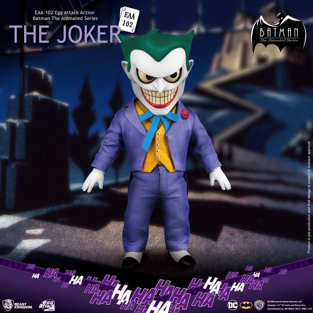 Batman Egg Attack Action Figure: The Animated Series - The Joker (EAA-102)