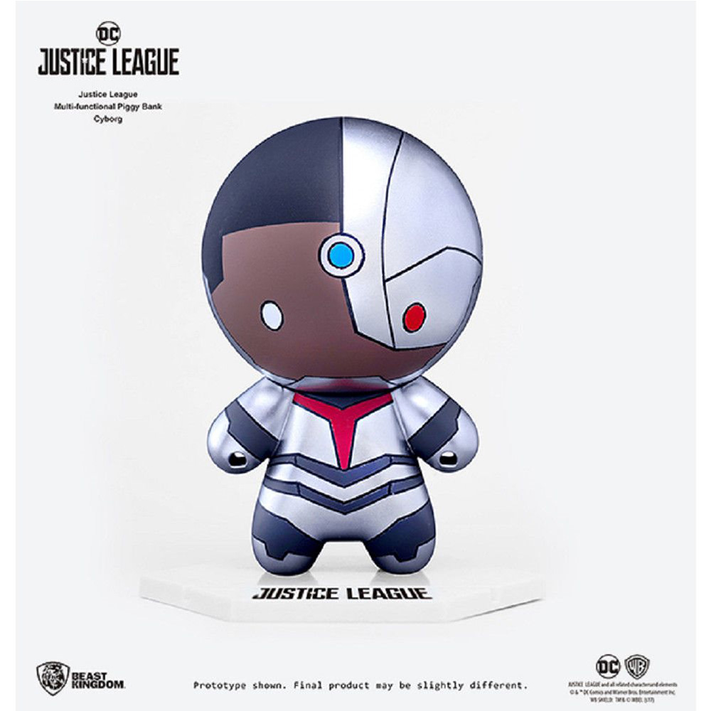 Cyborg - Justice League Multifunctional Piggy Bank