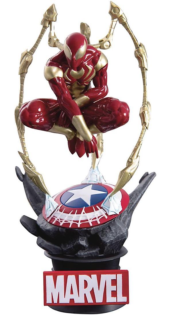 Marvel Avengers: Diorama Stage - Iron Spider-Man (DS-015)