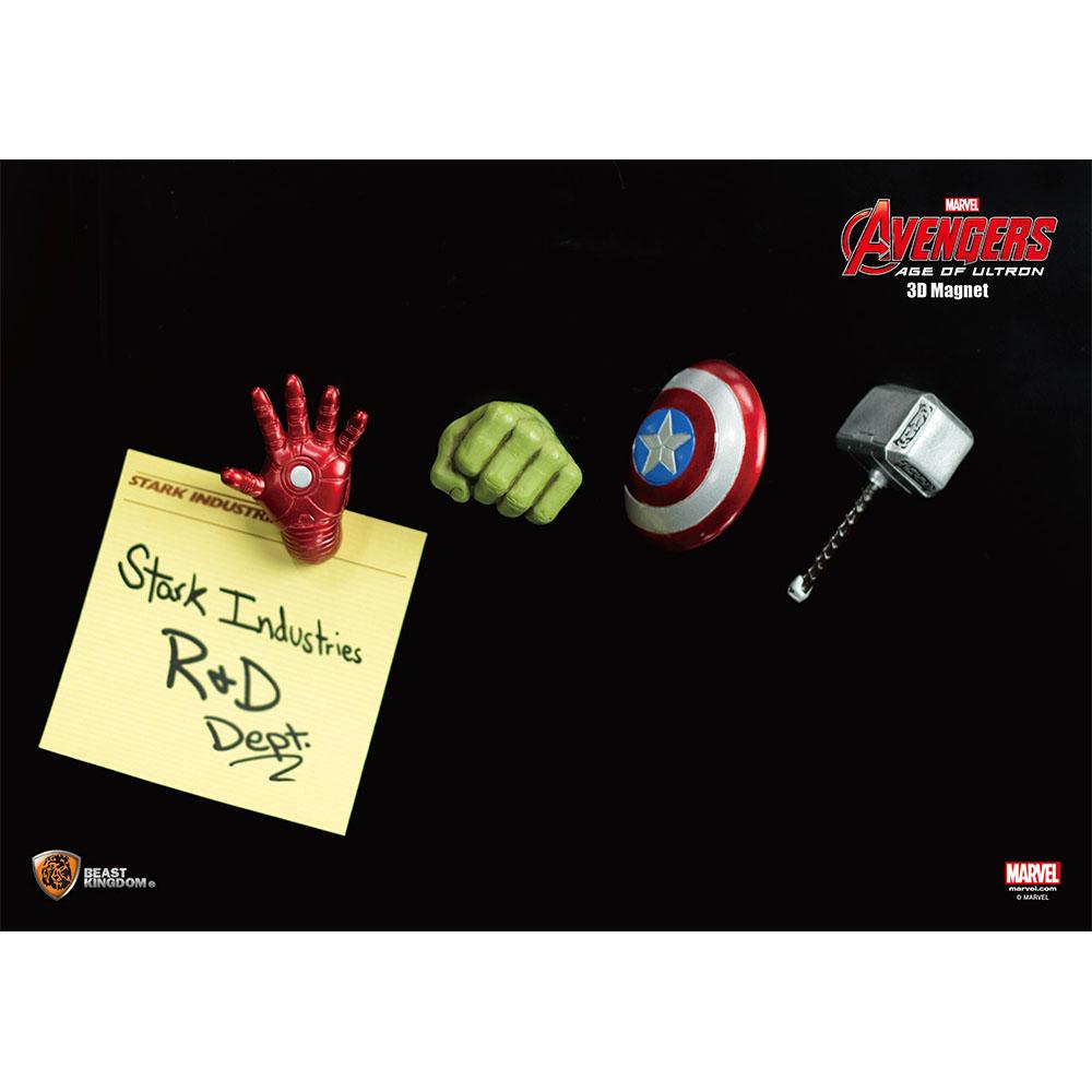 Marvel Avengers 2 3D Magnet - Hulk Fist