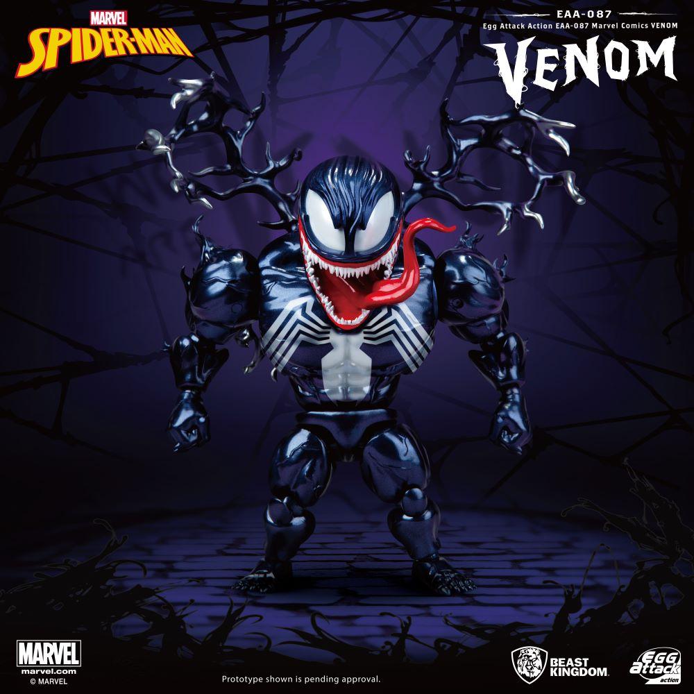 Marvel Comic: Egg Attack Action Figure - Venom (EAA-087)