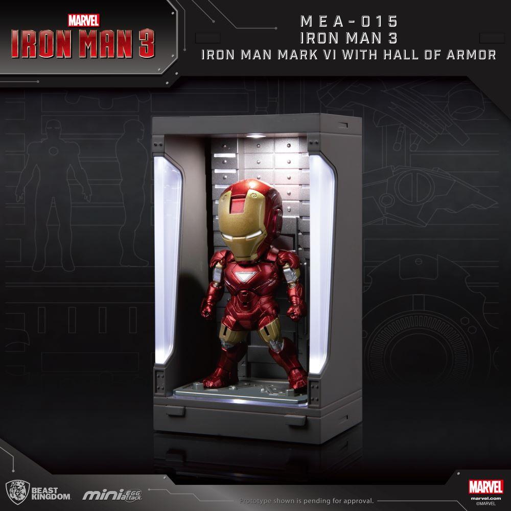 Marvel Mini Egg Attack Series: Iron Man Mark VI with Hall of Armor (MEA-015M6)