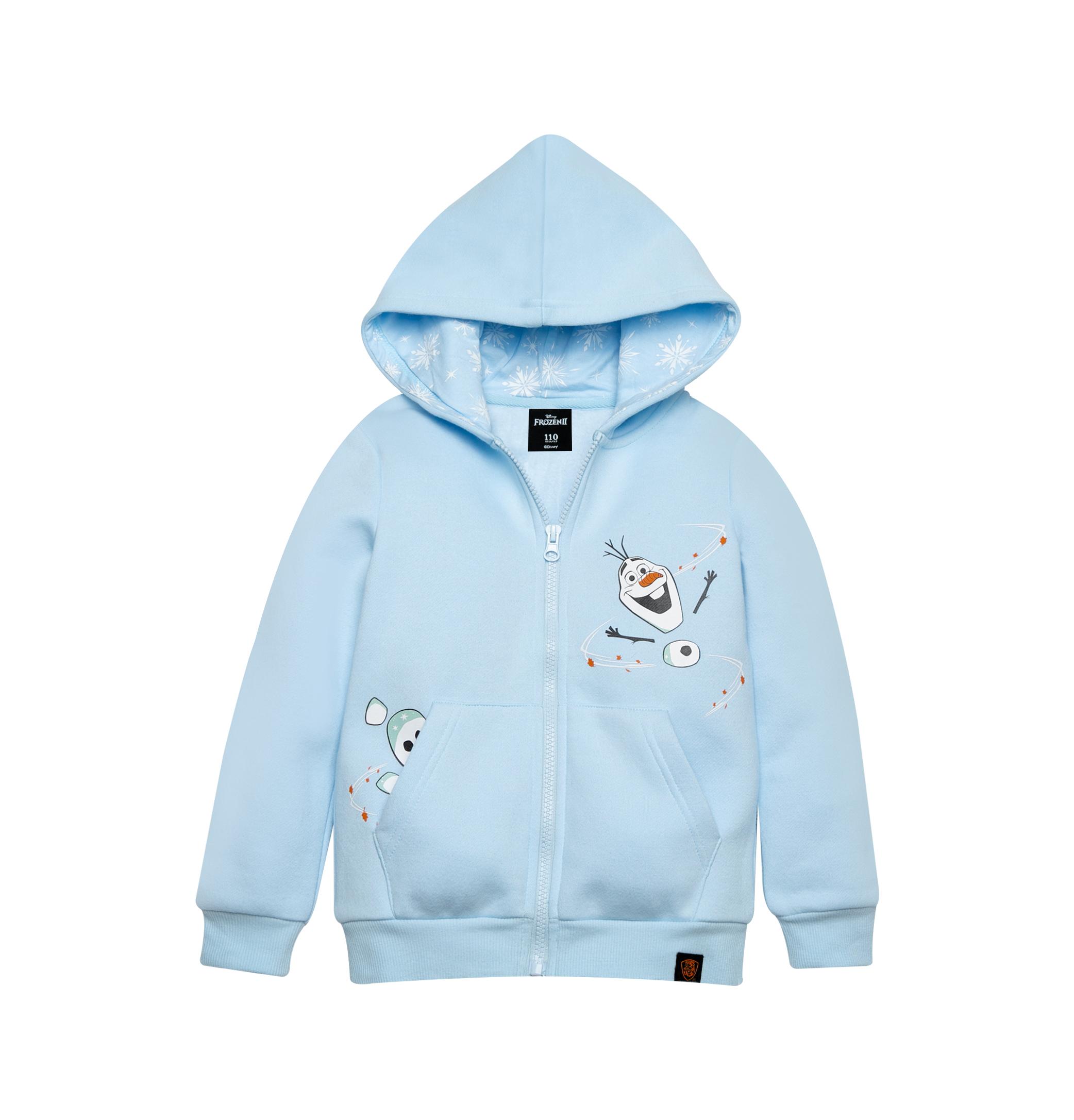 Frozen 2 Series : Olaf - Kids Hoodie Jacket (Blue - Size 110)