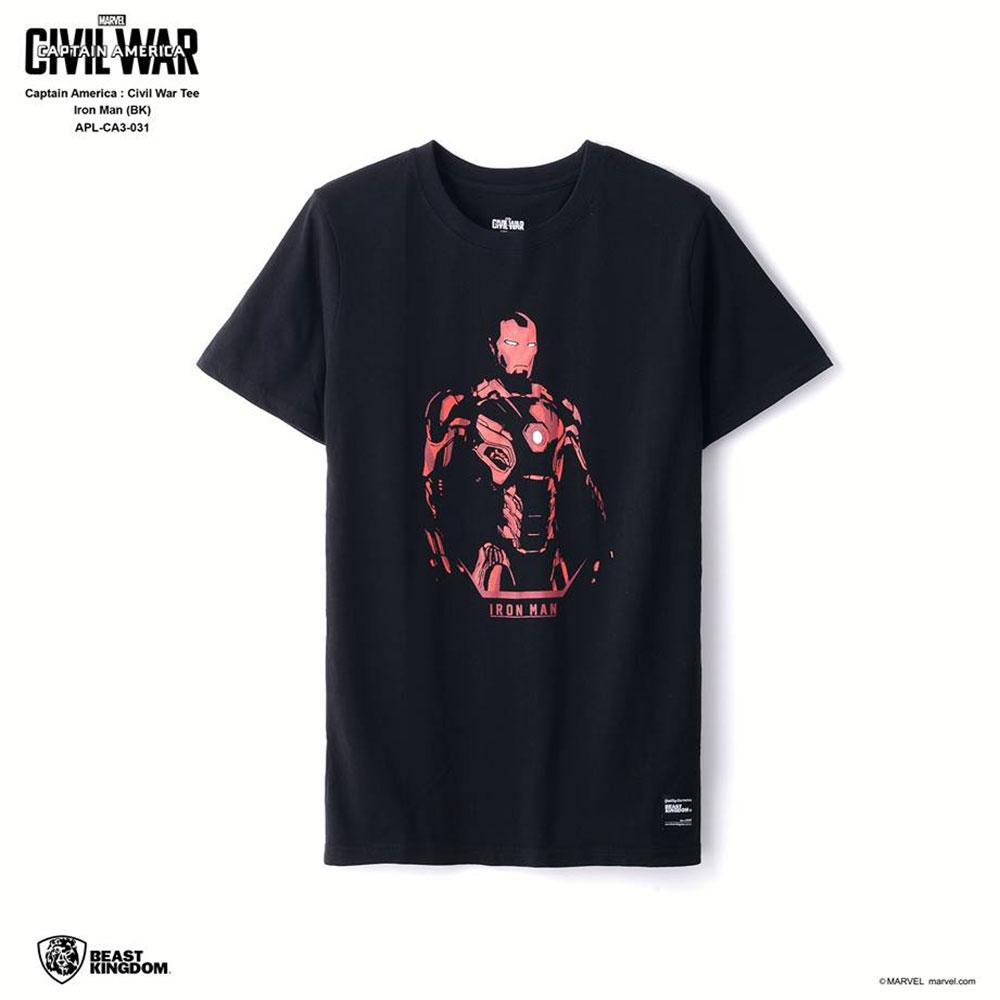 Marvel Captain America: Civil War Tee Iron Man - Black, Size S (APL-CA3-031)