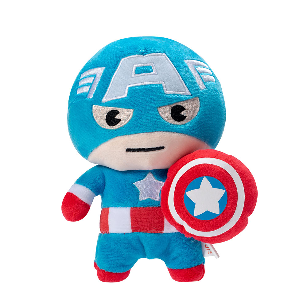 "Marvel Kawaii 8"" Plush Toy - Captain America (MK-PLH8-CA)"