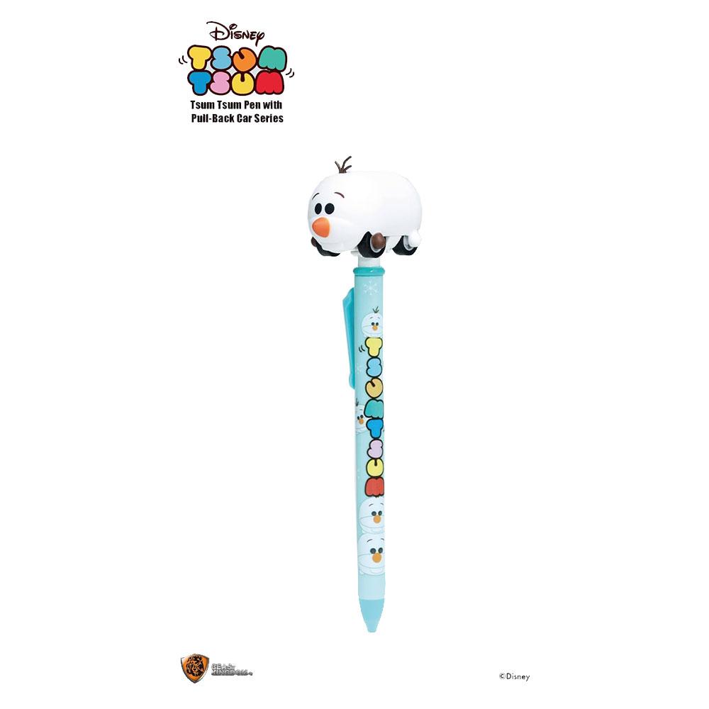 Disney: Tsum Tsum Character Pen With Pull-Back Car Olaf (TPEN-PBC-OLF)